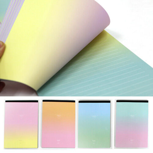 61sheets Rainbow Aurora Letter Lined Writing Stationery Paper Pad eBay - lined stationery paper