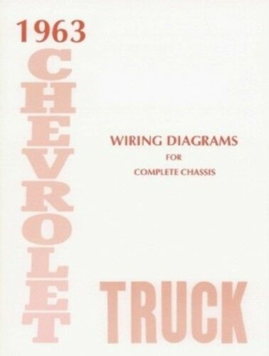 Chevrolet 1963 Truck Wiring Diagram 63 Chevy Pick up eBay