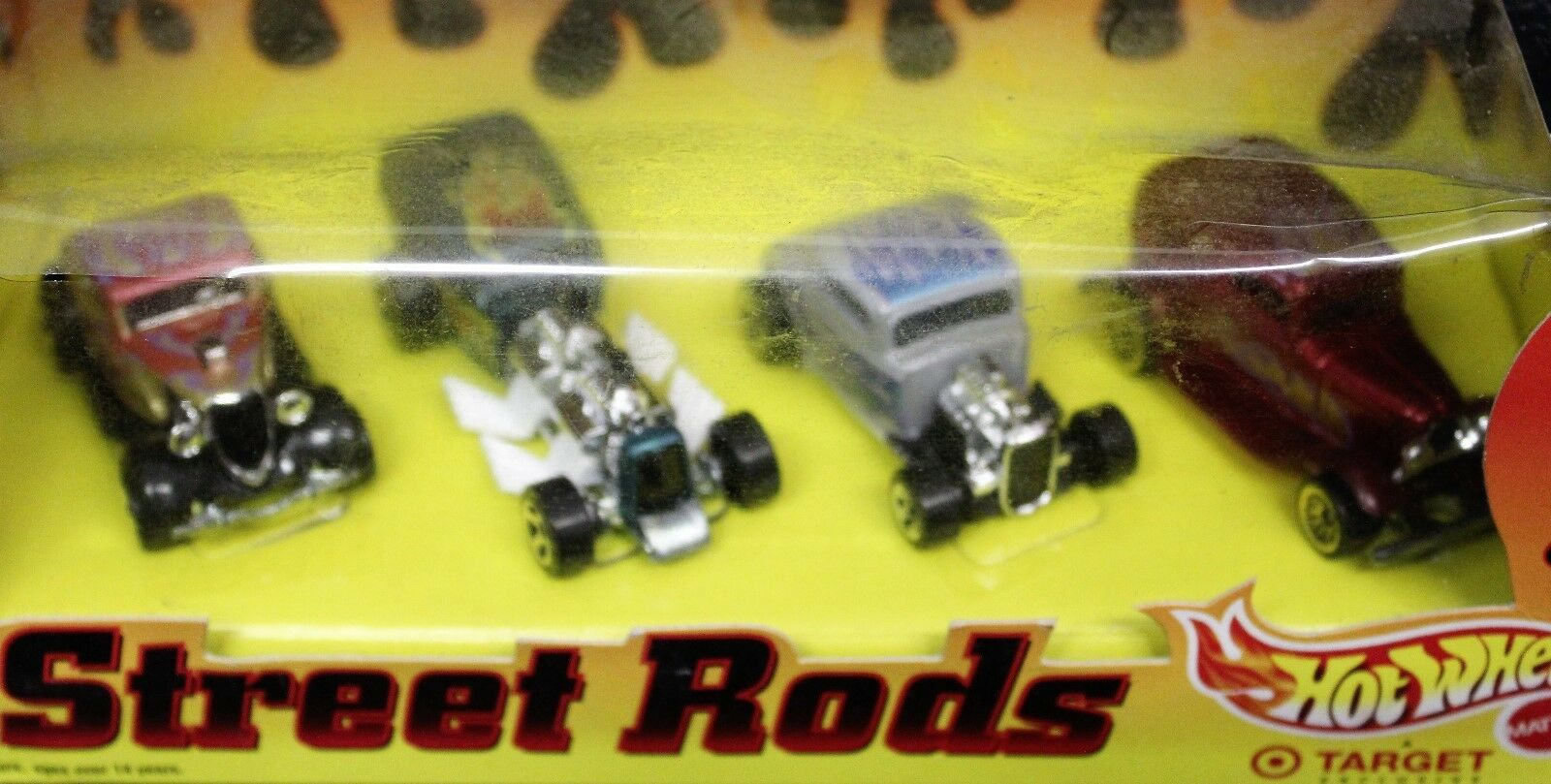 Toy Guitar Target 1998 Hot Wheels Street Rods 4 Car Set Target Plus 7 Ford 32s