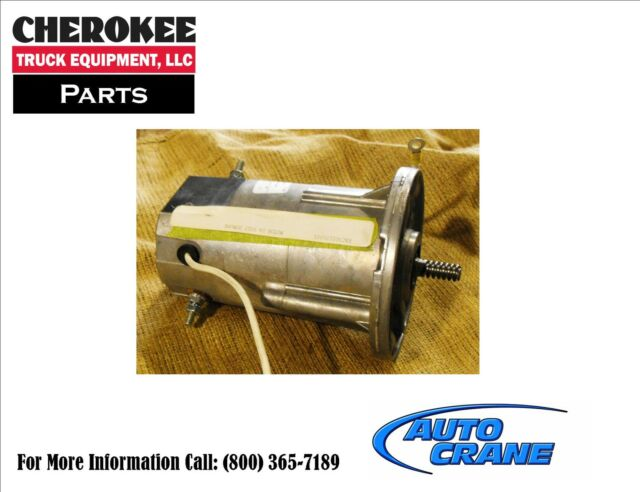 Auto Crane 300105001 MOTOR 24 VOLT DUMORE 5004 6006 Cable/Pulley