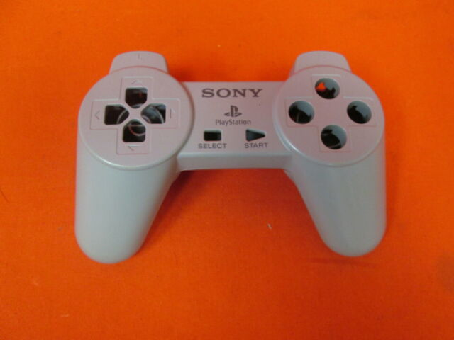 Sony PlayStation Controller Gray Non-dualshock for PlayStation 1 Ps1