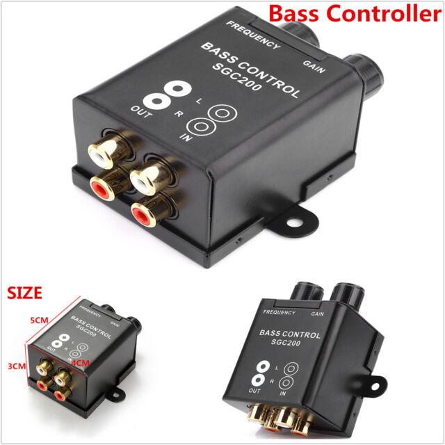Car Bass Controller Adjust Level Volume Amplifier Subwoofer