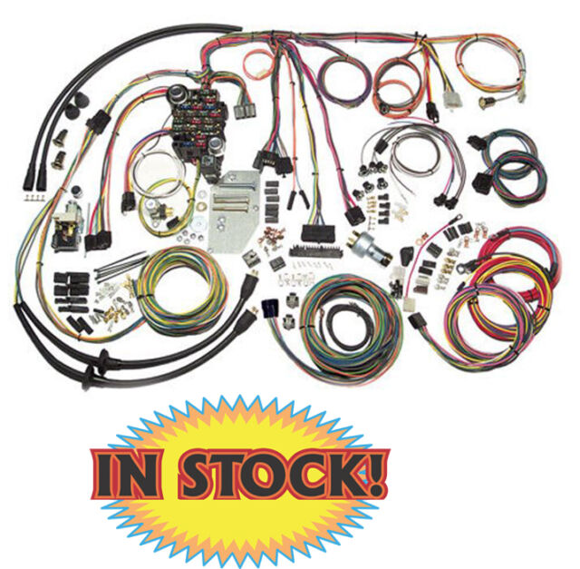1955 1956 Chevy Wire Harness Kit Complete American Autowire # 500423