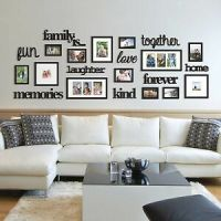 22 Pcs Word Family Is Photo Picture Frame Collage Set ...