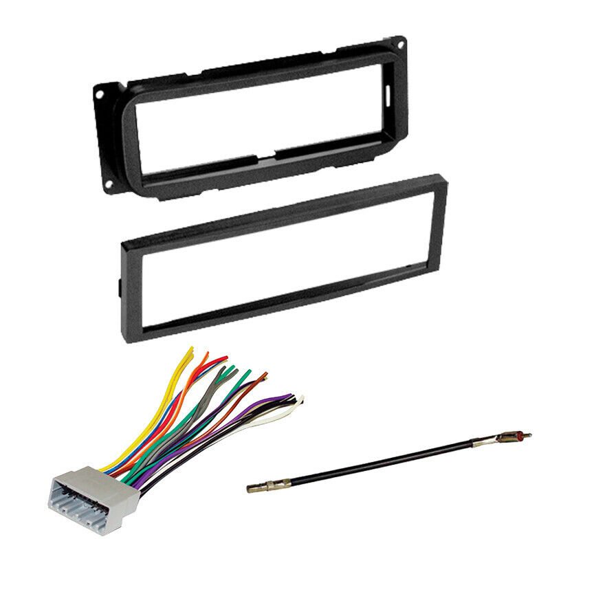 JEEP Liberty RADIO Car STEREO DASH Mount Installation KIT+ Wire