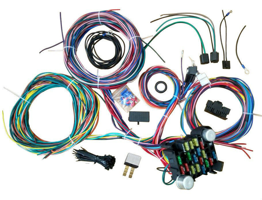 Ford Truck Wiring Harness 53-56 Street Rod Pickup Universal Wire Kit