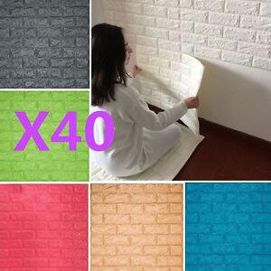 3d Effect Stone Brick Wall Textured Vinyl Wallpaper Self Adhesive 40 Rolls 3d Effect Stone Brick Wall Textured Vinyl