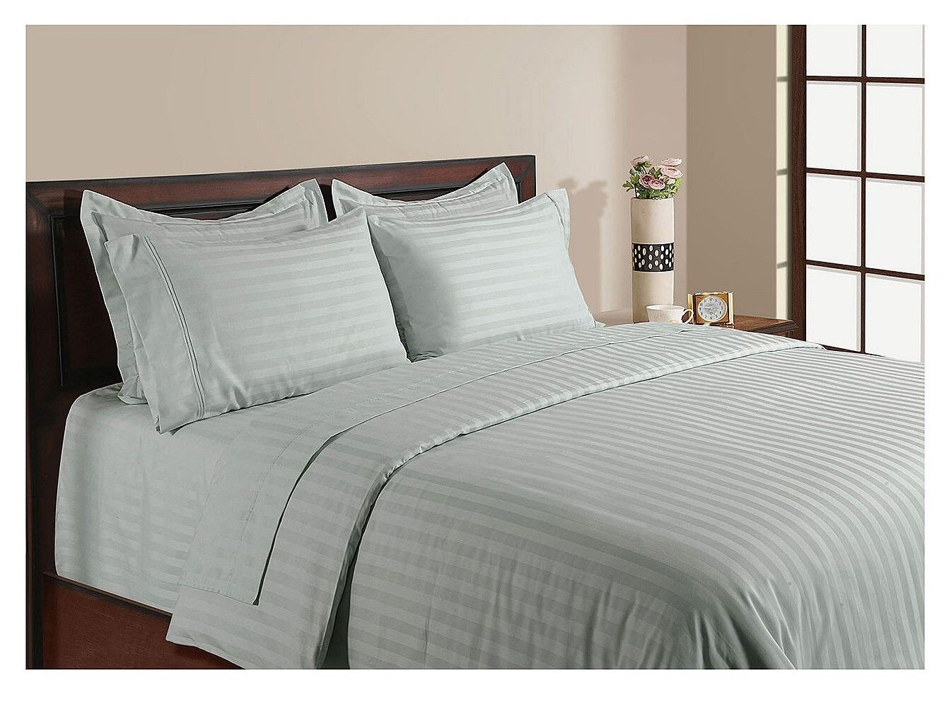 Habitat Bettwäsche 6 Pce Hotel Collection 1000tc Egyptian Cotton 50cm King Sheet Set