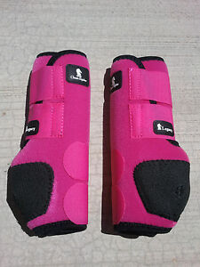 Classic Equine Legacy Boots Pink Hind Horse Tack Smb Sport