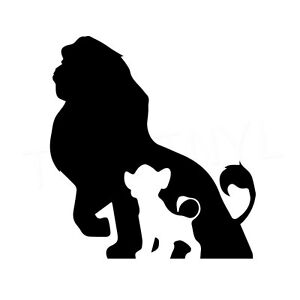 Volleyball Quotes Wallpapers 5 5 Quot Lion King Silhouette Vinyl Decal Sticker Car Window