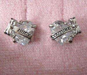 Auth Juicy Couture Faceted Heart with