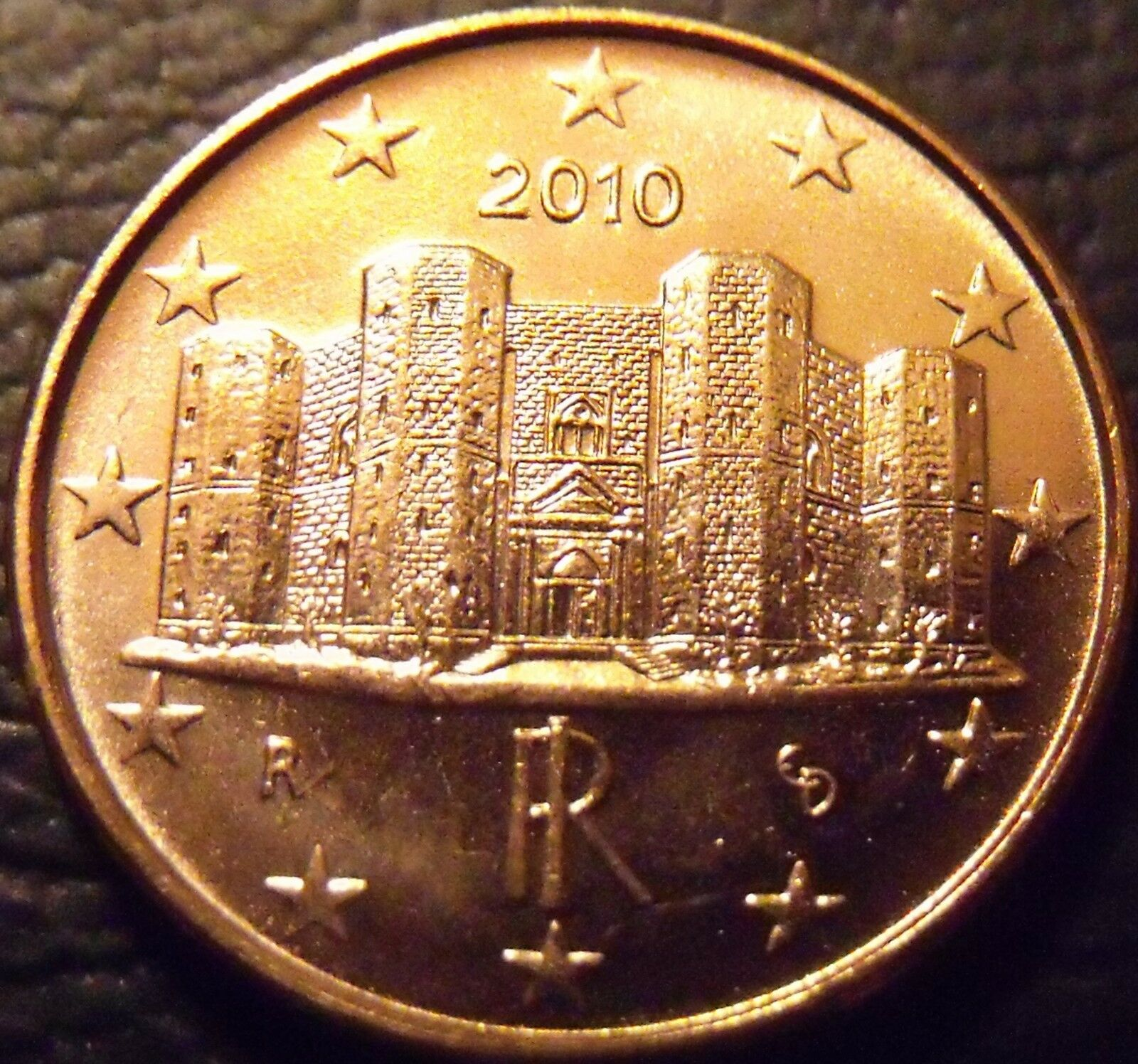 Ebay 1 Euro Gem Unc Italy 2010 1 Euro Cent The Castle Delmonte