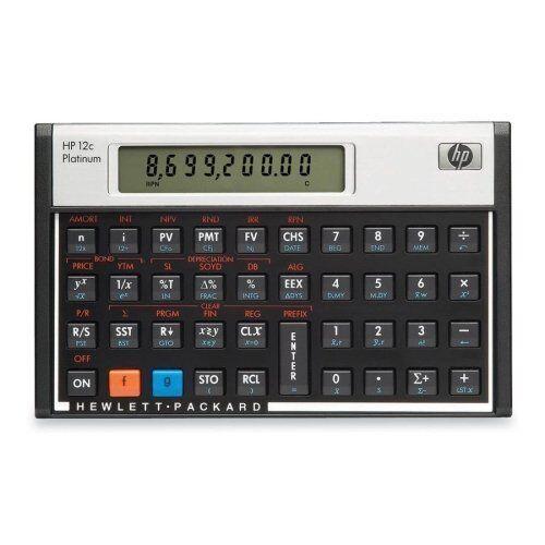 HP 12C Platinum Financial Calculator eBay