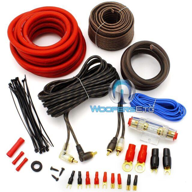 Focal Pk21 4 Gauge Performance Complete Car Speaker Amplifier Wiring