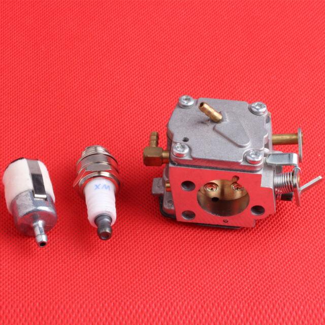 Stock Carburetor +Air Fuel Filter Kit Fit Stihl 041 041AV Farm Boss
