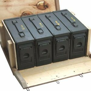 4 M19a1 30cal Ammo Cans Ammo Box In Military Surplus