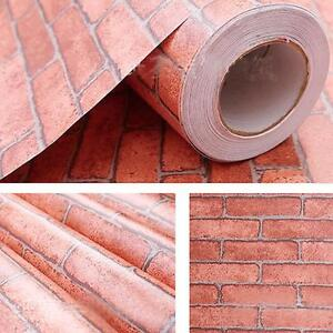 3d Effect Stone Brick Wall Textured Vinyl Wallpaper Self Adhesive Brick Stone Pattern Vinyl Self Adhesive Wallpaper Roll