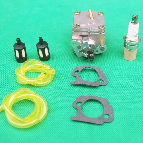 CARBURETOR SPARK PLUG fuel filter kit For Stihl 041 041AV Farm Boss