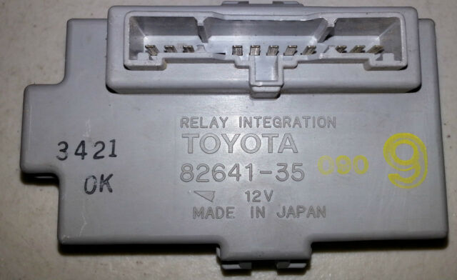 91-95 Toyota Pickup 4runner Truck T100 Relay Integration Fuse Block
