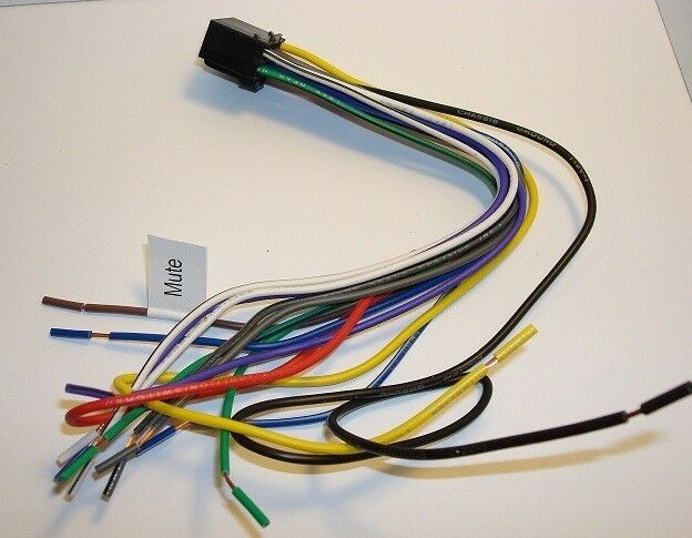 JENSEN DVD Wire Harness VM9214 VM9424 VM9414 VM9115 VM9215BT