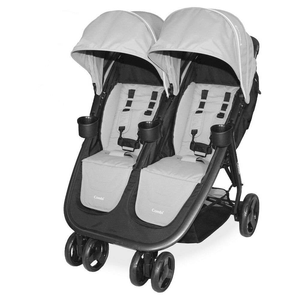 Combi Stroller Models Combi 2017 Fold N Go Double Stroller In Titanium Brand New Free Shipping