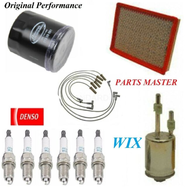 Tune up Kit Air Oil Fuel Filters Spark Plugs for Pontiac Grand Prix