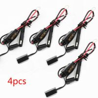 4 Pcs Car Battery Charger/Tender Cable Ring Terminal ...