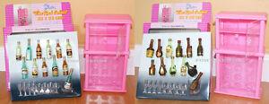 New Gloria Dollhouse Furniture Wine Rack A B Playset