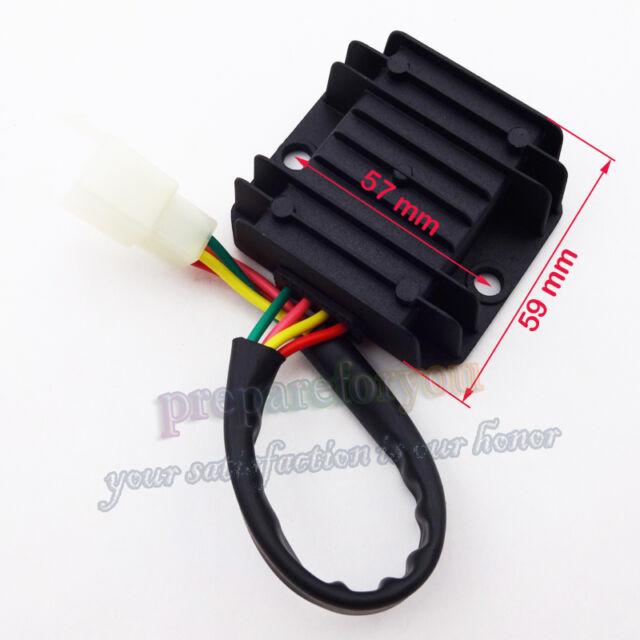 4 Wire Chinese Voltage Regulator Wiring Diagram Schematic Diagram
