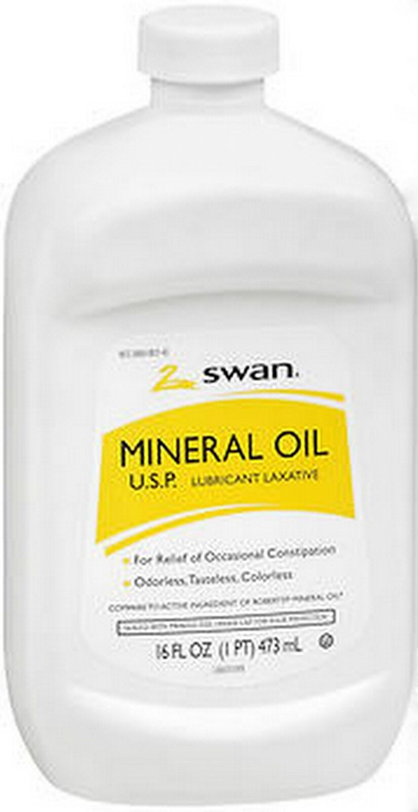 Mineral Oil Swan Lubricant Laxative Mineral Oil Odorless Tasteless Colorless 16oz For Sale Online Ebay