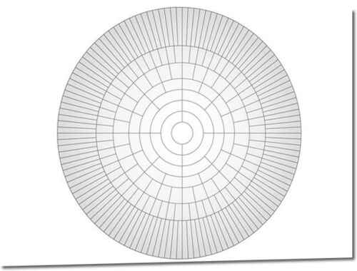 A2 Circle Family Tree Chart (family History / Genealogy Chart) eBay