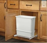 Plastic Garbage Bin Rev-A-Shelf 20-Quart for Pull Out ...
