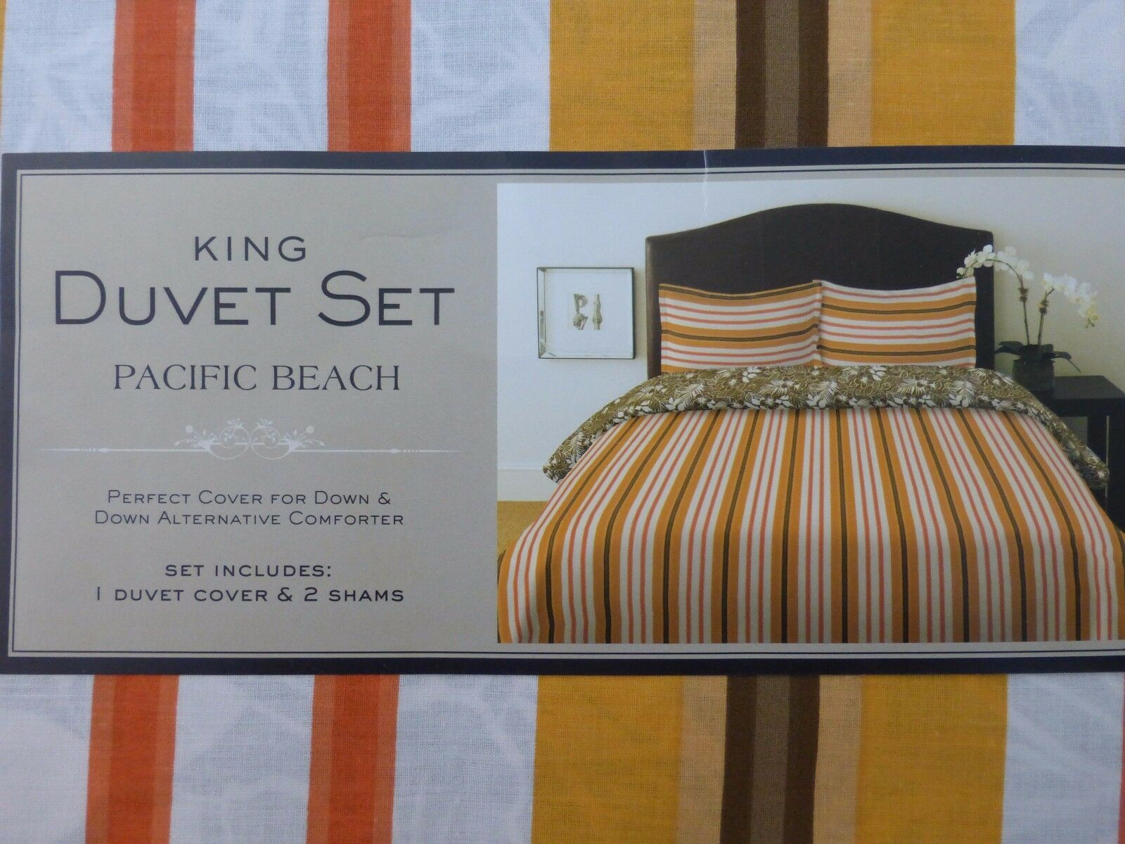 Vintage Collage Pacific Teppich Pc Pacific Beach King Duvet Cover Set Nip 3 Shams Nosmwc2859