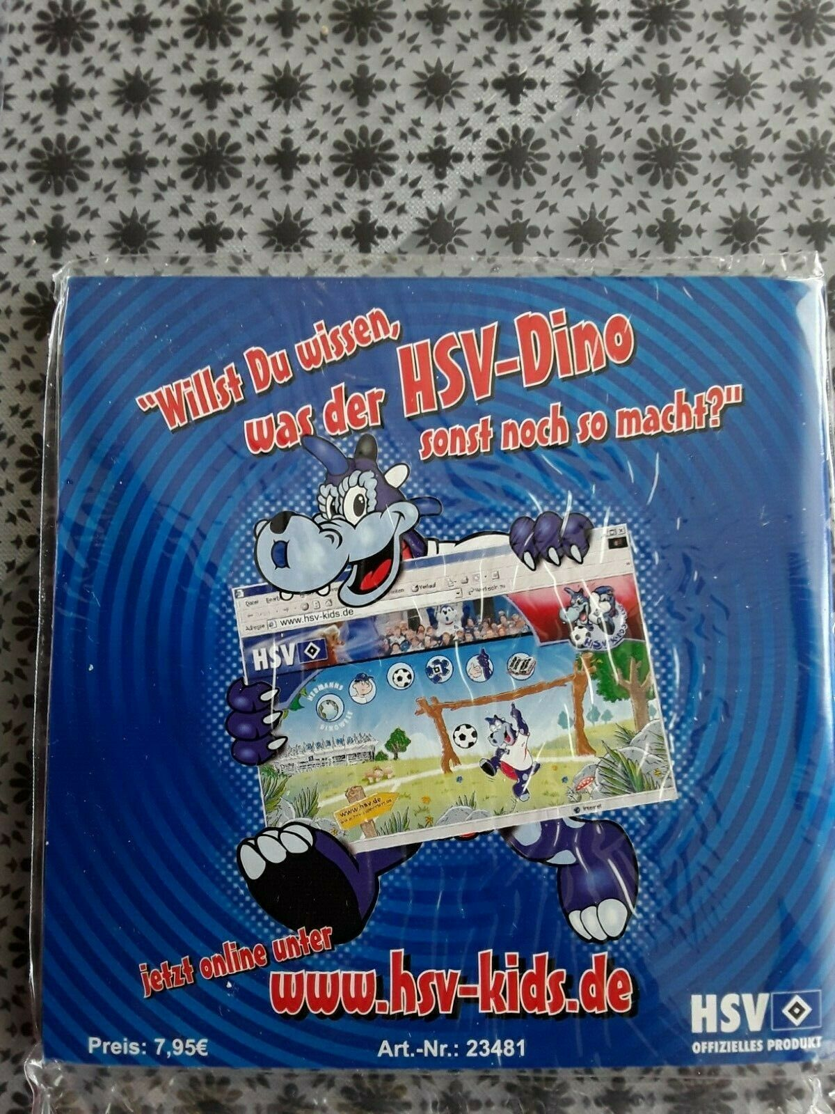 Hsv Kids Club Dino Hermann In Der Aol Arena Booklet Und Dino Cd Ovp Ebay