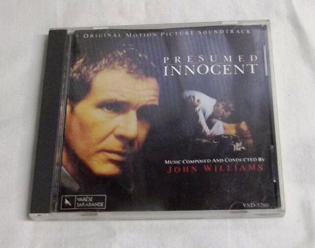 Presumed Innocent Original Motion Picture Soundtrack By Johnpresumed