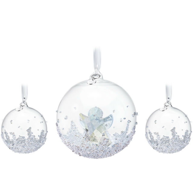 Swarovski Annual Edition 2015 Christmas Ball Ornament Set for sale