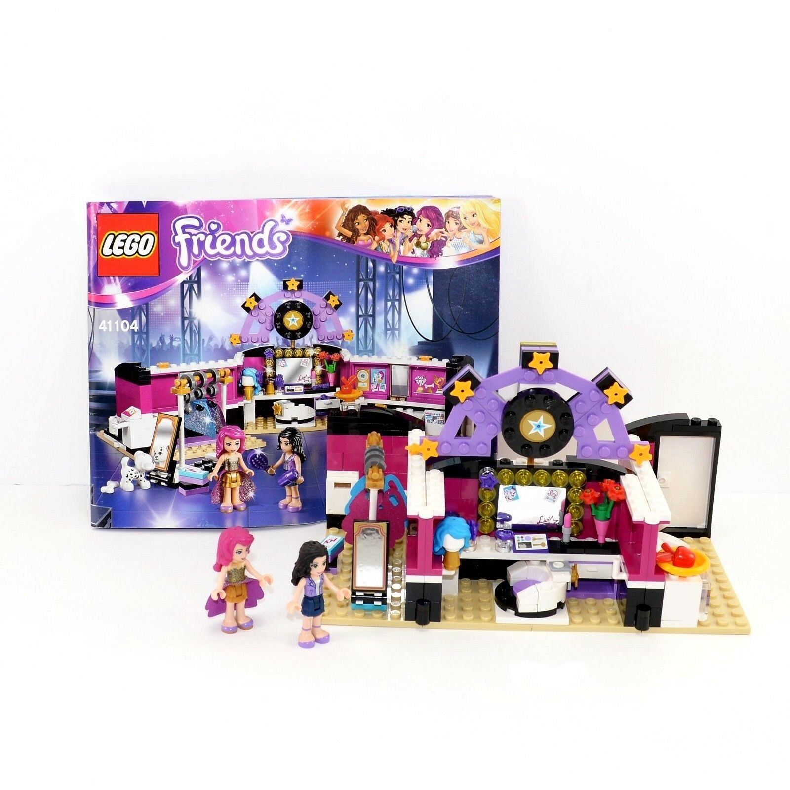 Lego Friends Badezimmer Lego Friends Emma Bedroom Instructions