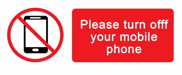 Turn Off Mobile Phone Sign - Best Mobile Phone 2018