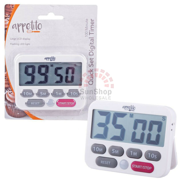 Set Stopwatch For 10 Minutes wall clock circle sign with