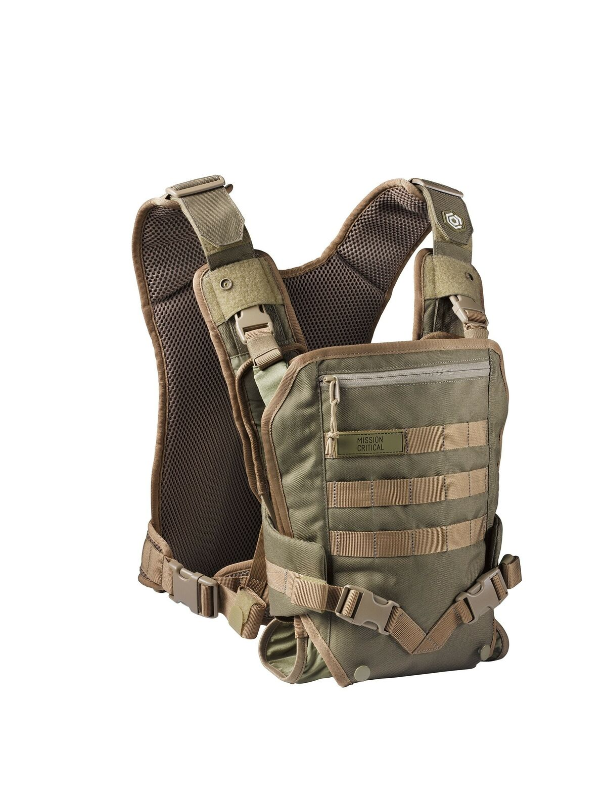 Infant Carrier Military Men S Baby Carrier Front For Dads By Mission Critical Coyote