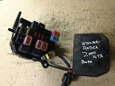 Hyundai Amica Fuse Box Better Wiring Diagram Online
