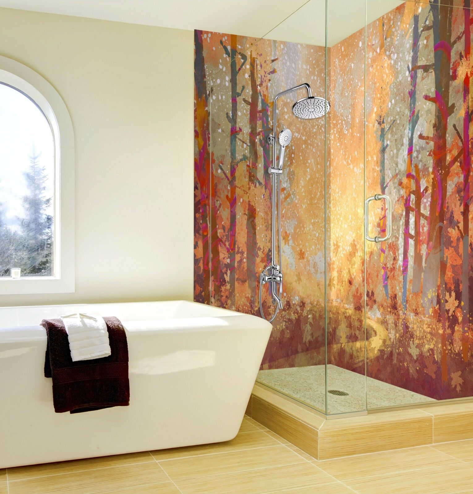 Wallpaper Murals For Bathrooms Picture 7058 Wallpaper Bathroom Print Decal Deco Aj Wallpaper Au