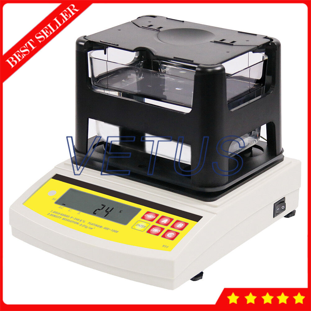 Density Testing Precious Metal Analyzer Gold Purity Testing Machine Digital Density Meter Gauge