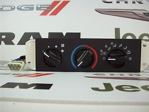 Jeep Wrangler Ac Control Head 55037473ab Air Conditioning