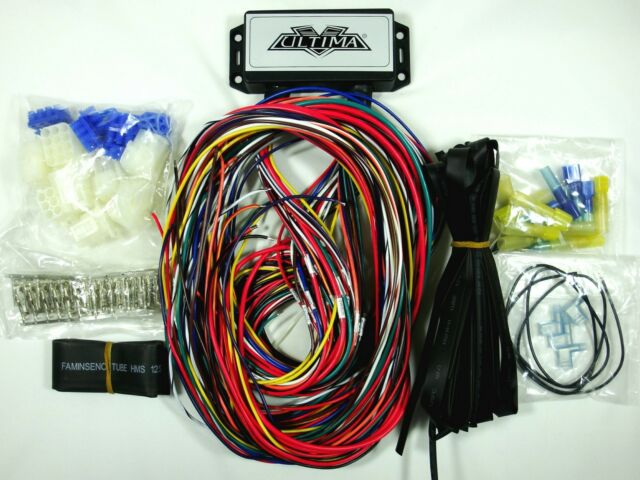 Ultima Plus Compact Electronic Wiring Harness Kit Bobber Chopper