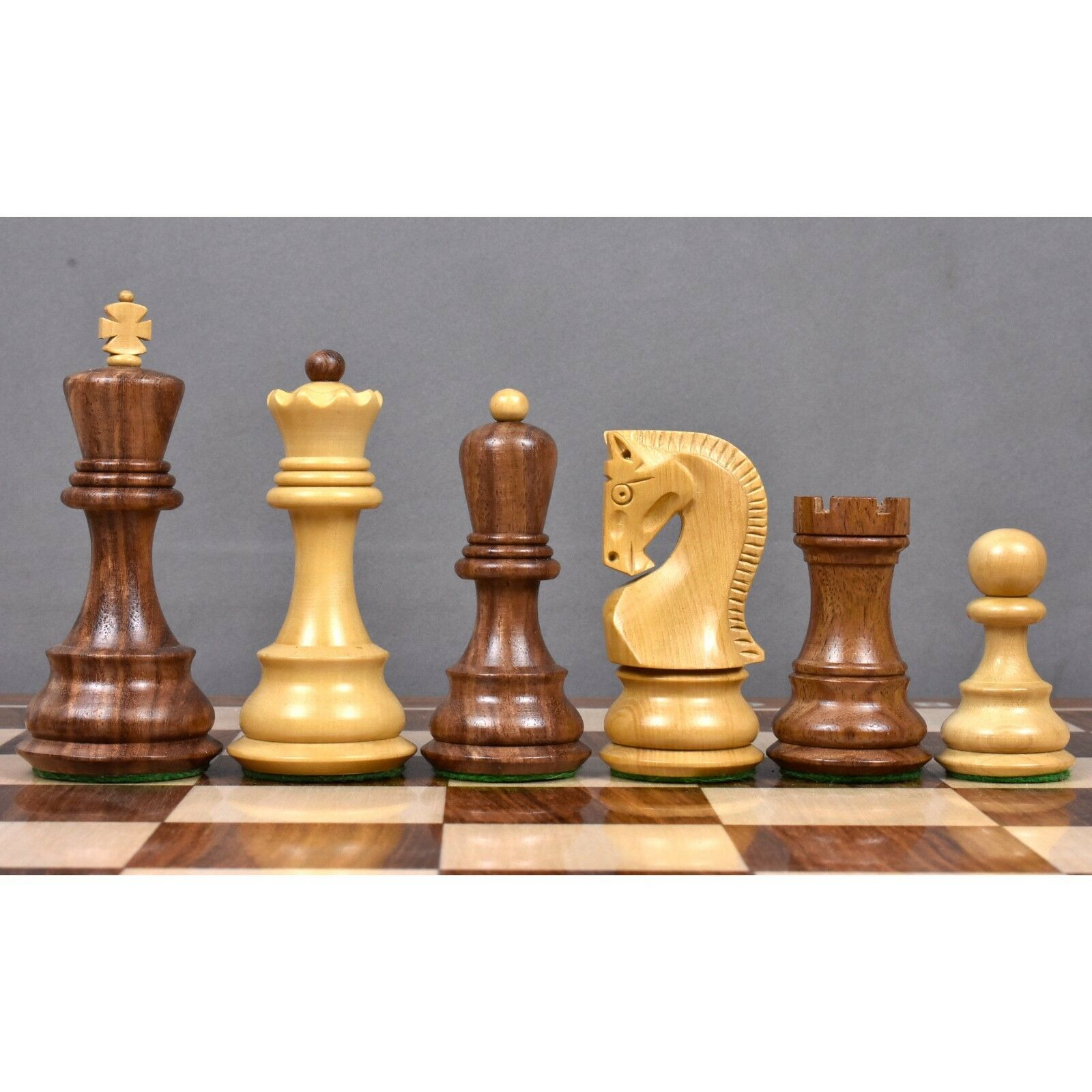 Gold Chess Pieces 3 9 Russian Zabreg Chess Set Weighted Golden Pink Wood Extra