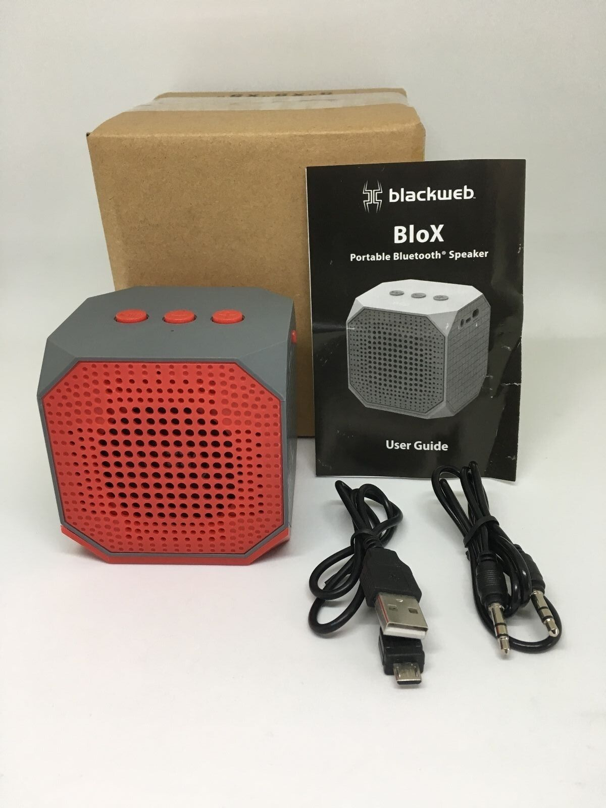 Bluetooth Box Details About Blackweb Blox Portable Wireless Bluetooth Rechargeable Speaker Hands Free 6hr