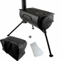Frontier Stove Portable Wood Burning Cooker Heater Camping ...