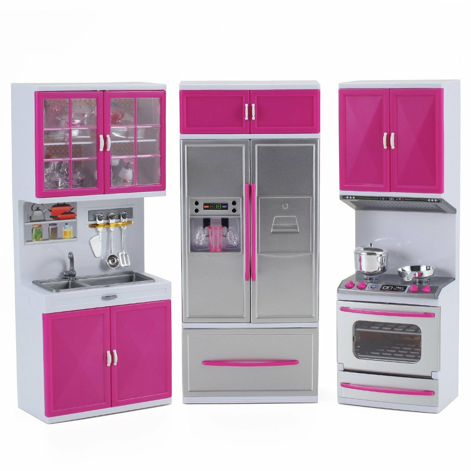 Modern Kitchen Battery Operated My Modern Kitchen Full Deluxe Kit Battery Operated Kitchen