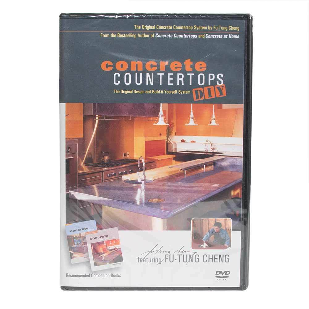 Concrete Countertops Book Specialty Diamond Dvd Futung Cheng Concrete Countertop Diy Learning How To Dvd 645710765889 Ebay